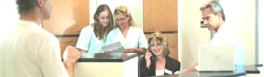 Online-Terminbuchungen Zahnarztpraxis Frey